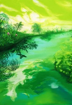 Shadow-spring / Oil on canvas, 2010 /
