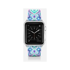 Apple Watch Band - Pink and Purple Boho Intense band ($70) ❤ liked on Polyvore featuring jewelry, watches, apple watch band, boho chic jewelry, purple jewelry, pink watches, purple watches and bohemian style jewelry