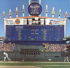 Comiskey Park Opening Day 1981