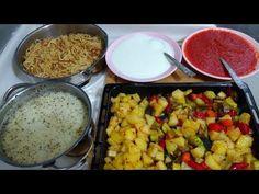 30 Dakikada İftar Menüsü 3/Yayla Çorbası/Karışık Kızartma/Çubuk Makarna/Seval Mutfakta - YouTube Iftar, Macaroni And Cheese, Menu, Rice, Vegetables, Ethnic Recipes, Food, Watches, Youtube