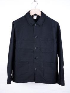 Le Laboureur - Moleskin French Worker's Jacket by E-G