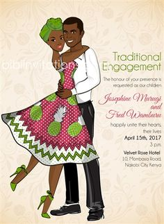 29 Best African Engagement Invites Images Traditional Wedding