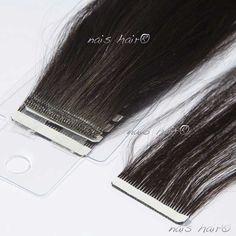"""MegaHair Fita Adesiva cabelo Virgem 70CM (28inch). COMPRIMENTO: 70cm (28 """") COR: Preto Natural QUANTIDADE: 50gr/pacote LARGURA: 20 tiras de 4 centímetros cada TEXTURA: Lisa QUALIDADE: Remy, cabelo 100% Virgem. Sem misturas. Não embraraça. DURABILIDADE: Mais de 1 ano, se cuidado."""