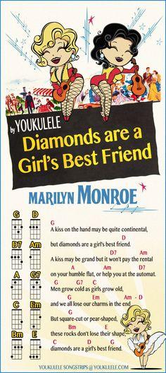 """Songstrip dedicata alla vera e propria iconadella cultura pop, Marilyn Monroe, la canzone scelta è """"Diamonds are a girl's best friend"""" tratta dal film """"Gl"""