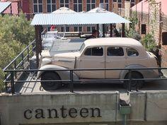 Canteen restaurant, Maboneng Precint, Johannesburg | One Footprint On The World