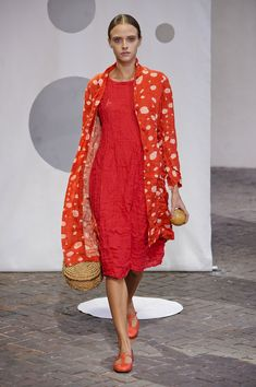 Daniela Gregis at Milan Fashion Week Spring 2014 - StyleBistro