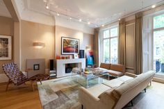 5 bedroom house for sale in Leamington Road Villas, Notting Hill, London, - Rightmove. His And Hers Sinks, Kensington And Chelsea, Design Salon, 5 Bedroom House, Top Interior Designers, Reception Rooms, Living Room Interior, Ground Floor, Property For Sale