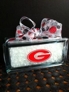 UGA Georgia Bulldog Snow Block by Jewlsbasement on Etsy, $26.00