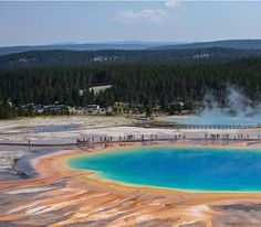 Grand Prismatic Spring, Yellowstone - USA
