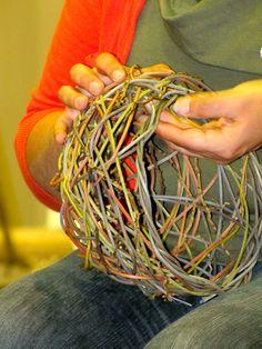Random weave baskets - Love this so much! !!!