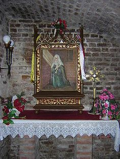 St. Dorothea of Monteau... 14th century German hermit and mystic