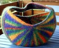 Bildergebnis für kostenlose anleitung tasche strickfilzen
