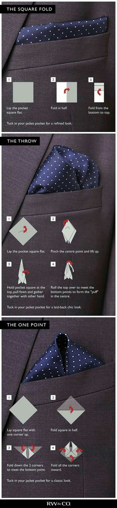 Add that bit of flair to your suit...