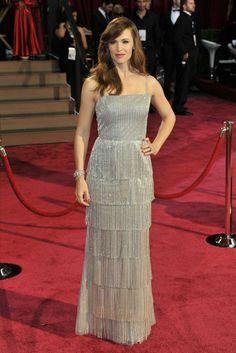Jennifer Garner in Oscar de la Renta. [Photo by Donato Sardella]