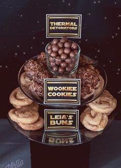 Star Wars snacks.