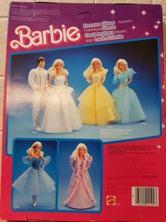 Vintage barbie doll clothes no 2192 Dream Glow circa 1985 Doll Clothes Barbie, Vintage Barbie Dolls, Barbie Dream, Doll Outfits, Childhood Memories, Aurora Sleeping Beauty, Glow, Disney Princess, Disney Characters