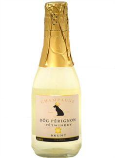 Dog Perignon Dog Champagne
