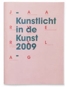 Booklet - Annual Report  Kunstlicht in de Kunst 2009