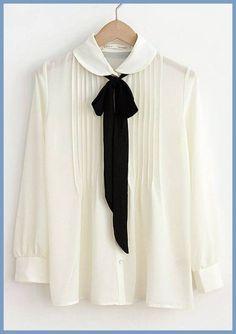 blusas que fazem sucesso - blusa com laço - lace blouse - moda outono - moda anti-idade