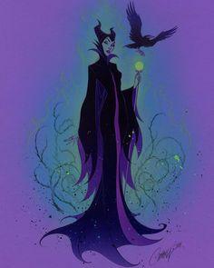 Maleficent J Scott Campbell Disney Fan Art, Disney Love, Disney Magic, Disney And Dreamworks, Disney Pixar, Walt Disney, Downtown Disney, Maleficent Art, Malificent