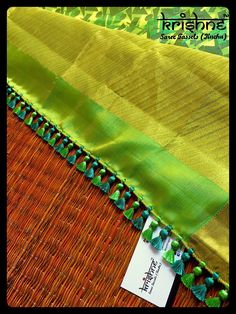 Krishne's tassel collection includes traditional kuchu, crochet patterns, contemporary and bridal saree tassels.Price ranges between and Saree Kuchu Designs, Saree Tassels Designs, Silk Saree Blouse Designs, Bridal Blouse Designs, Mirror Blouse Design, Silk Anarkali Suits, Silk Sarees, Designer Blouse Patterns, Saree Wedding