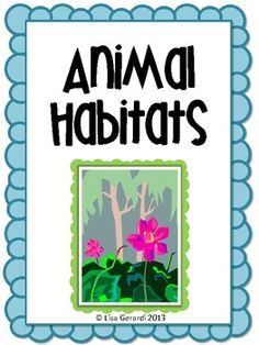 This is a project I created for 2nd and 3rd grade students.  Students worked in groups of 3-4 to create a diorama representing a habitat.  This set includes:-Anchor chart listing six animal habitats-Diorama assignment sheet-Planning sheet for groups as they research their habitats-Sheet to sketch plan for diorama-Writing assignment sheet-Diorama rubric-Writing rubric**There are more than 6 habitats and you could easily add more to your students' choices.