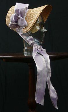 Decor To Adore: Creating a Regency Era Bonnet from a Modern Straw Hat