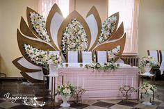 Ширма в виде лотоса - Свадьбы - Сообщество декораторов текстилем и флористов