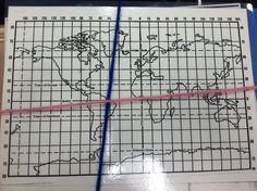 Miss O's Map Activity -- Longitude and Latitude