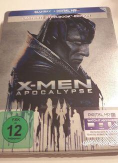 X-Men Apocalypse (Blu-ray Steelbook) (2016) NEU&OVP  in Filme & DVDs, DVDs & Blu-rays | eBay!