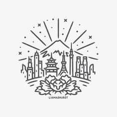 232 best earth symbol images in 2019 doodles paintings simple Uranium Element Symbol CafePress this time featuring mt fuji overlooking tokyo graphicdesign design art artwork drawing handdrawn tattoo blackwork slowroastedco blackworknow