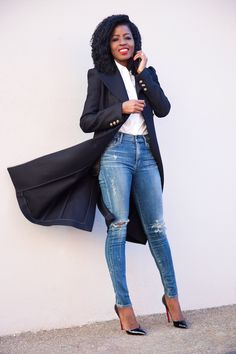 Classic Coat x Simple Look