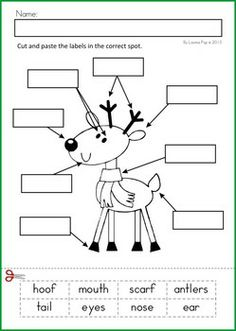 christmas math literacy worksheets activities no prep - Holiday Printables For Kids