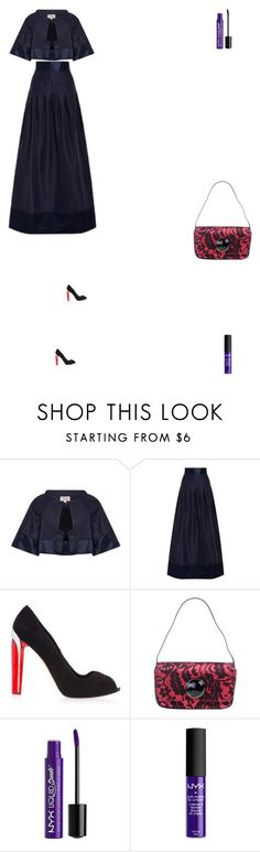 """Grace"" by zoechengrace ❤ liked on Polyvore featuring Temperley London, Alexander McQueen, Moschino Cheap & Chic, Charlotte Russe and NYX"