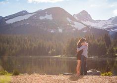 Brainard Lake Proposal She Said Yes Mountain Location