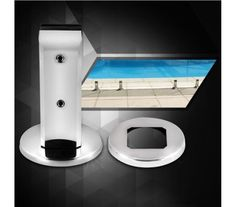 Square Stainless Steel Glass Spigot
