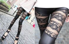 in love.lace leggings <3