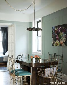 Mint: The Perfect Summer Color, Interior design by The Novogratz, Photography by Matthew Williams