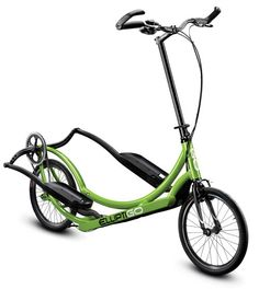 I want this ElliptiGo - I'd much rather do this than be in a gym on one of the machines.
