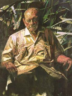 Luis Muñoz Marin del pintor puertorriqueño Francisco Rondón