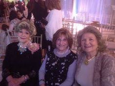 "Pearl Shapiro, Rebtz. Ruth Schonfeld, Yenty Leifer; daughters of the Nadvorno Rebbe, z""l. Published with their permission."