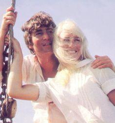 "osseteniveis: "" _John and/e Cynthia Lennon; Tahiti/Taiti; Maylis; May 1964/Maio de 1964. _Source/Fonte: ""Do you have any BEATLES photos I've never seen before?""/Music Corner/ Steve Hoffman Music Forums. """