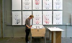 Máquina de pinball é modificada para fazer impressões de arte