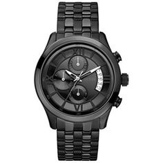 GUESS U17526G1 Roman Numeral Overlay Watch -- Be sure to check out this awesome product.