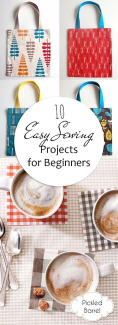 10 Easy Sewing Projects for Beginners #sewing #sewingtutorial #sewingtip #craft #crafting
