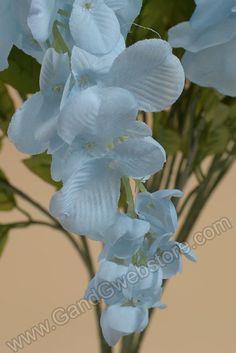 "31"" WISTERIA BUSH LIGHT BLUE, GandGwebStore.com has a wide selection of flowers for all of your decorative needs. Tenemos una amplia seleccion de flores para todas sus necesidades decorativas."