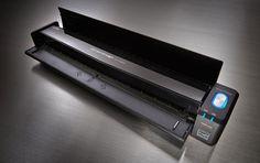 Fujitsu ScanSnap iX100, a wireless ultra-compact portable scanner