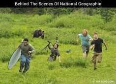 Behind-the-scenes of National Geographic ;D