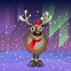 Iva Ivanova on Behance Very Merry Christmas, Minnie Mouse, Disney Characters, Fictional Characters, Digital Art, Santa, Behance, Animation, Illustration