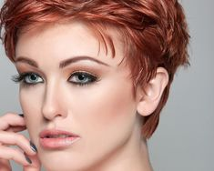 Short Red Hairstyle